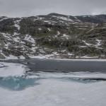 jeziorko pod urwiskiem Karitinden