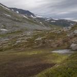 widok z przełęczy w stronę Herdalen