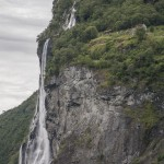 wodospad na Geirangerfjord