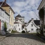 śliczne drewniane domki, Bergen
