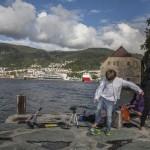 plaża w Bergen