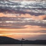 zachód słońca widziany z cytadeli