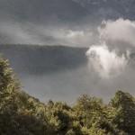 resztka mgły nad Entarque- Alpes Maritimes
