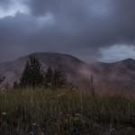 światła Isoli we mgle