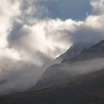 wieczorne mgły w Alpes Maritimes