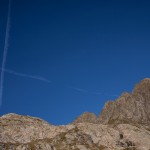 wszechobecne nad Alpami samoloty