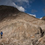 wysokogórskie przejście w Alpes Maritimes