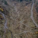 podejście w górę doliny pontebernardo