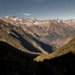 widok w dół doliny Balibierna