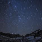 nocne niebo nad Aneto