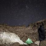 nasz biwak pod granią Besiberri