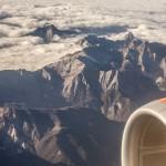 Alpy Apuańskie z lotu ptaka