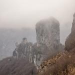 widok spod Rifugio Forte del Marmi