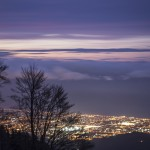 widok z rifugio Carrara