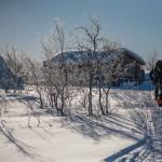 zabudowania hodowców reniferów, Laponia