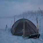 Laponia, Finlandia- biwak
