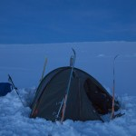foki, nie zdejmowaliśmy ich przez wiele dni, kiedy mieliśmy tylko kopny śnieg