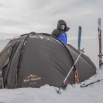 namiot na wietrze