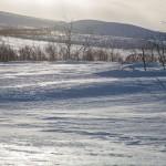 Finnmarksvidda, wędrujący śnieg