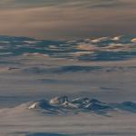 góry opadające w stronę Alta