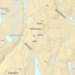 mapa Jensa