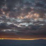 Laponia, świt