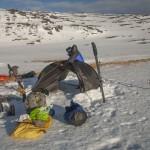 biwak przed Kafjord