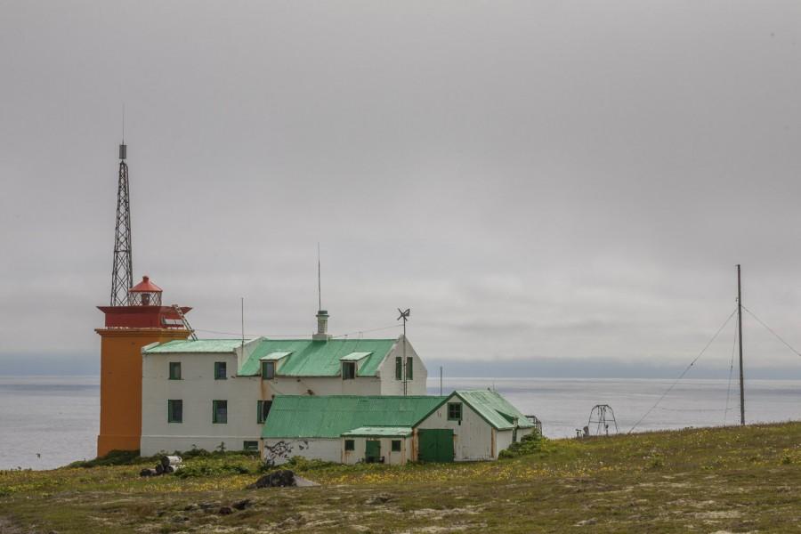Islandia, Latarnia morska w Latraviku- prawdziwe, przyjazne górskie schronisko