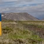 znakowany szlak-Reykjanes, Islandia fot Kasia Nizinkiewcz