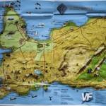 Reykjanes mapka z informacji turystycznej