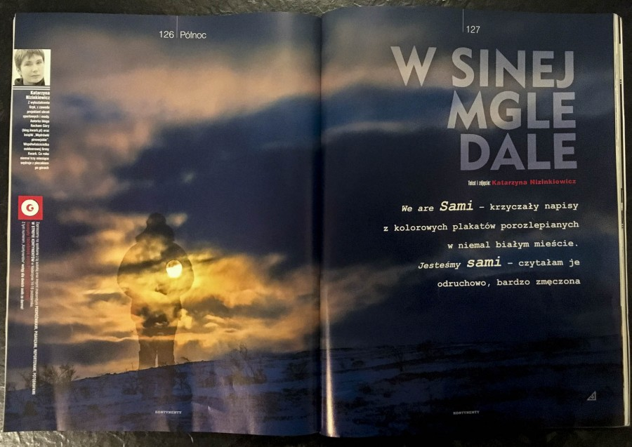 Magazyn Kontynenty, zdjecie autorstwa koleżanki , bo mój egzemplarz jeszce nie dotarł