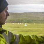 Islandia błoto na gruntowej drodze