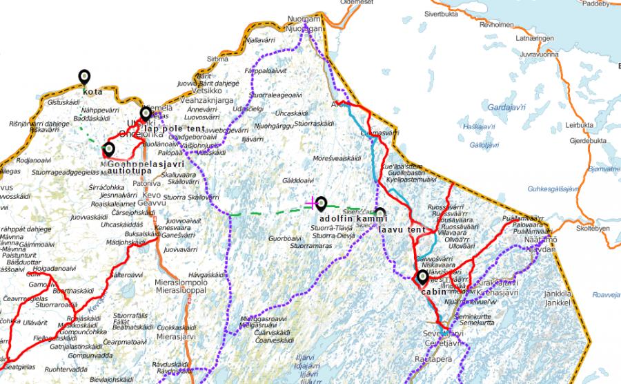 Laponia 2017- plan
