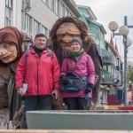 Ja i Wiesiek w Akureyri