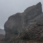 bazaltowe kolumny w Jökulsárgljúfur