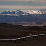 Islandia, Krafla, widok z krateru Viti
