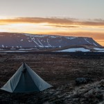 Islandia biwak pod Leirhnjúkur