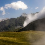 na granicy chmur