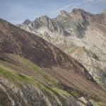 Pireneje, Lipiec - droga na Collada Gistain