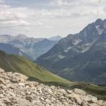 Pireneje, Lipiec , zejscie z Collado Ubaga