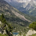 Pireneje, lipiec Ibon Eskarpiosa
