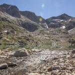 Pireneje, lipiec, Lac Millieu