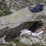 Pireneje, lipiec , koliba nad Angel Orus