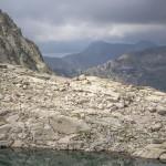 Pireneje, lipiec, Collada della Plana