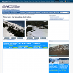 kamera na Nevado de Chillan 3.listopada