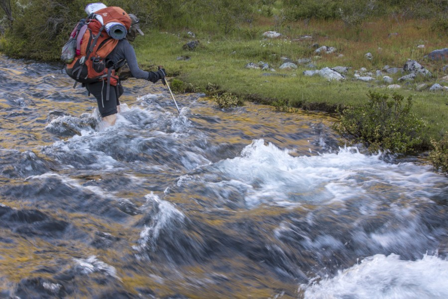 łatwa rzeka, Chile
