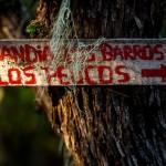 Chile, szlakowy znak