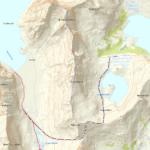 mapa Horseidvikka- selfjorden hytte