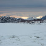 zimowy trawers Lofotów