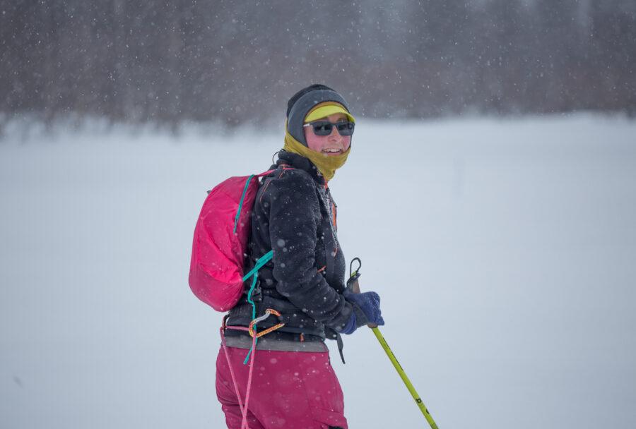 Agnieszka Dziadek, Ivalojoki, marzec 2019
